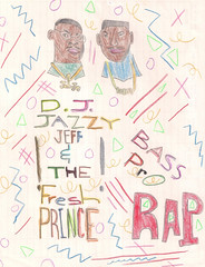 Rap (E. Victor C.) Tags: art jeff dj prince smith fresh will childrens hip hop rap jazzy