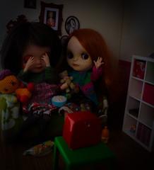 Blythe a Day 5 scary movie