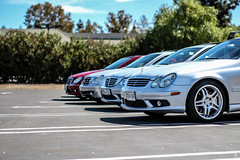 IMG_1445 (SamGoesWest) Tags: cars star benz wheels mercedesbenz caravan v8 daimler sportscar amg v6 supercharged merc cclass c230 c55 w203 m113 carmeet inline4 affalterbach thebestornothing