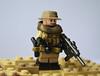 Loaded out Modern Warfare Figure (BricksandBits-Customs) Tags: modern desert lego custom warfare brickarms gibrick