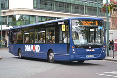 Rotala Group Blue Diamond 30952 AE59EHR (Will Swain) Tags: city uk travel blue england west bus buses birmingham britain centre go transport group whippet september diamond former midland midlands 26th 2014 swavesey rotala 30952 ae59ehr