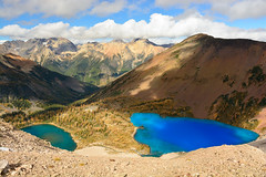 Buster Lakes (Marko Stavric) Tags: autumn lake mountains fall lakes azure buster purcell purcells invermere