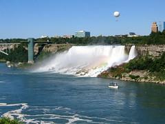The Amazing Niagara Falls (the American & Bridal Veil Falls) (Ruchwa Rodborne) Tags: usa canada canon niagarafalls waterfalls bridalveilfalls americanfalls canons50