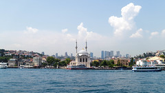 Dolmabahe Mosque (a 1 u c a r d) Tags: cruise tour istanbul mosque bosphorus dolmabahe