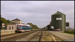 "20141009 NS 20 ""Kameel"", Zuidbroek (Koen Brouwer) Tags: ns 20 kameel directie trein train zug station gare bahnhof oktober 2014 zuidbroek sunny koenbrouwer koen brouwer"