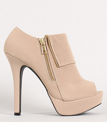 "zipper peep toe platform taupe • <a style=""font-size:0.8em;"" href=""http://www.flickr.com/photos/64360322@N06/15323115659/"" target=""_blank"">View on Flickr</a>"