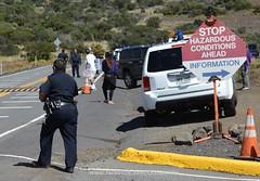 TMT blockade on Mauna Kea (Occupy Hilo) Tags: road hawaii protest sacred astronomy block blockade piko maunakea tmt wakea buildingtmt