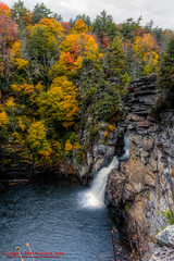 Linville Falls - Oct. 11, 2014 (mikerhicks) Tags: usa fall geotagged unitedstates hiking northcarolina waterfalls hdr newland linvillefalls photomatix canon7d nashvillehikingmeetup sigma18250mmf3563dcmacrooshsm geo:lat=3594989755 geo:lon=8192589720