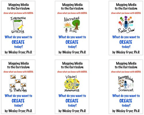 Mapping Media eBook Singles by Wesley Fryer, on Flickr