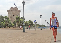Macedonia, Thessaloniki, girl along the seafront with White Tower in backdrop, Greece (Macedonia Travel & News) Tags: macedonia ancient culture vergina sun thessaloniki philippi orthodox nato eu fifa uefa un fiba greecemacedonia macedonianstar verginasun aegeansea macedoniapeople macedonians peopleofmacedonia macedonianpeople mavrovo macedoniablog 203313829 macedoniagreece makedonia timeless macedonian macédoine mazedonien μακεδονια македонија travel prilep tetovo bitola kumanovo veles gostivar strumica stip struga negotino kavadarsi gevgelija skopje debar matka ohrid heraclea lyncestis macedoniatimeless tourisminmacedonia