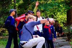first group selfie in Pyongyang (jonas_k) Tags: travel northkorea pyongyang dprk pjöngjang
