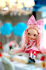 let's have a balooney ball : ) (launshae) Tags: pink balloons lolita blythe blythedoll launshae