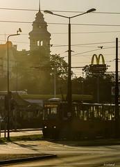 Bydgoszcz (Krystian Dobosz) Tags: poland polska mcdonalds tory bydgoszcz tramwaj kujawskopomorskie