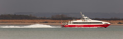 Red Jet 5 (LHRlocal) Tags: boats jet wash solent boating southampton boattrip redjet redfunnel calshot fawley southamptonwater calshotspit calshotbeach canon6d philbroad