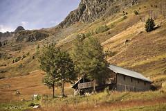 Escape to the Mountains (Sebastian.gone.archi) Tags: autumn france mountains alps nature digital landscape 50mm cycling nikon escape nikkor idyllic glandon marmotte d700