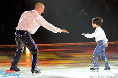 Kurt Browning and son Dillon