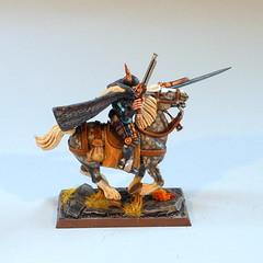 Outriders of Nuln, 2nd part (DariusZero) Tags: horses empire warhammer guns wargame warhammerfantasy outriders nuln