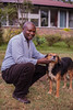 Guy & dog portrait | Kenya (ReinierVanOorsouw) Tags: kenya health wash kenia hygiene ngo sanitation kakamega kenyai kisumu beyondborders gezondheid quénia كينيا simavi кения 肯尼亚 beyondbordersmedia beyondbordersutrecht sanitatie ngoproject