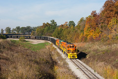 ISRR 3371 Somerville IN 23 Oct 2014b (Train Chaser) Tags: sd402 isrr indianasouthern isrr3371