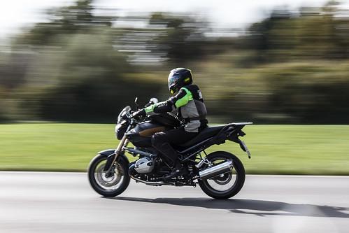 racing bike...