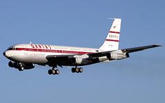 VH-XBA (GH@BHD) Tags: aircraft aviation boeing 707 qantas dub airliner dublinairport b707 dublininternationalairport vhxba qantasmemorialfoundation
