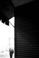 EAVE (YOUANDMEORUS) Tags: street leica autumn blackandwhite bw woman fall girl monochrome umbrella bn rainy eave leitz