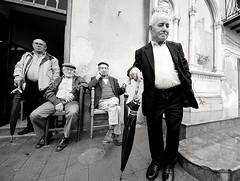 Domenica mattina (NinoLo) Tags: street people bw sunday bn persone sicily sicilia reportage mezzojuso