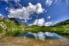 Lago Mucrone (danilodld) Tags: water lago nuvole natura biella riflessi montagna oropa mucrone 2104 visitpedmont 2014copyrightdanilodelorenzisdld©serialnumber624340