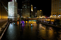 Fire Festival - Part 3 (ancientlives) Tags: travel autumn chicago night fire october fuji chicagoriver 18mm firefestival fuji18mm fujixt1