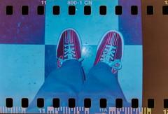 Bowling with Holgas (ScottMPhotos1) Tags: film holga lomo lomography shoes bowling sprockets lomo800 holga120tlr