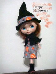 Blythe Halloween outfit