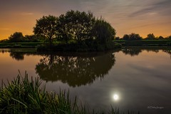 Lingmere (alundisleyimages@gmail.com) Tags: longexposure trees nature water night reflections nikon moonlight wirral merseyside leasowe lingmerefishery nikond7100rip nikkor1755f28rip