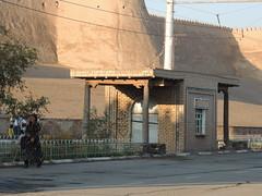 DSCN5504 (bentchristensen14) Tags: uzbekistan citywall khiva ichonqala