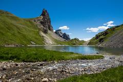 Grand Lac (3). Ecrins. (Olivier Dgun) Tags: france alpes canon de eos la lac grand brianon ecrins bruyre cerces arte 700d 1585isusm