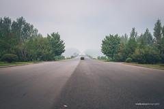 Road to Kaesong (reubenteo) Tags: flag military north korea dmz jsa panmunjom dprk