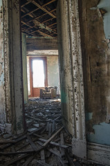 Room With A View (Dr_Fu_Manchu) Tags: urban abandoned rural chair nikon peeling paint downtown decay doorway louisville mansion derelict abandonment derelect ouerbacker d7000 johnjmillerphotography urbandonment