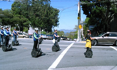 "Segway tour passing by Lombard Street • <a style=""font-size:0.8em;"" href=""http://www.flickr.com/photos/34843984@N07/15522711196/"" target=""_blank"">View on Flickr</a>"