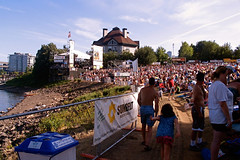 "Huge Crowd before Stage in McCall Waterfront Park • <a style=""font-size:0.8em;"" href=""http://www.flickr.com/photos/34843984@N07/15542577491/"" target=""_blank"">View on Flickr</a>"