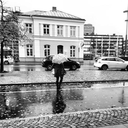 Rain #streetphotography #commute #mymalmo