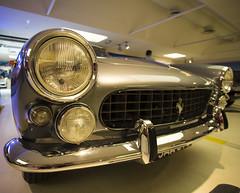 Ferrari Museum (Hans van der Boom) Tags: italy classic museum vintage silver it ferrari headlights front museo modena maranello itali
