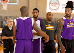 Los Angeles Lakers Workout at Pechanga