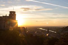 Heidelberg Castle Sunset I (boettcher.photography) Tags: sunset sky sun tower clouds germany deutschland sonnenuntergang himmel wolken heidelberg turm sonne schlossheidelberg badenwrttemberg heidelbergcastle sashahasha boettcherphotography