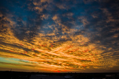 Atardeceres (emiliokuffer) Tags: sunset sky clouds atardecer day cloudy cielo nubes oroverde regionwide