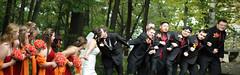 Tug of War (Benjamin Wright2011) Tags: wedding panorama fall fun photography nikon kiss war d70 shots professional bridesmaids tug groomsmen