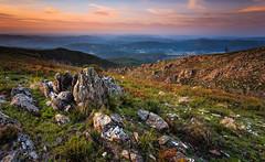 Arouca - Geopark (paulosilva3) Tags: blue sunset sky mist mountain portugal nature yoga landscape free fresh lee filters dimension arouca geopark longexpos