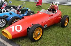 1960 Bandini Formula Junior (vetaturfumare - thanks for 3 MILLION views!!!) Tags: red grass fiat 10 racing infield 52 racer 1100 1960 concoursdelegance limerock no52 bandini monoposto rogerward spokewheels etceterini ekerfälgar