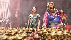 Happy Deepavali (Motographer) Tags: street nepal portrait religious nikon smoke buddhism oil kathmandu lamps boudhanath boudha motographer d7000 tokinaatx1116mmf28dx fotografikartz motograffer