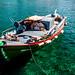 Green Fishing Boat, Ayios Nikolaos Harbour