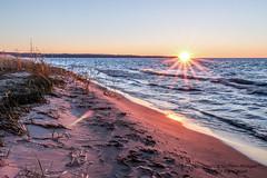October Sunset (ShaneWyatt) Tags: bear county sleeping sunset lake point bay michigan dunes leelanau shanewyatt eos70d