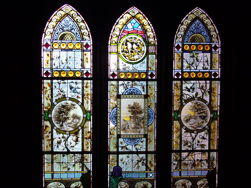 Mildura. Stained or painted glass window by denisbin, on Flickr